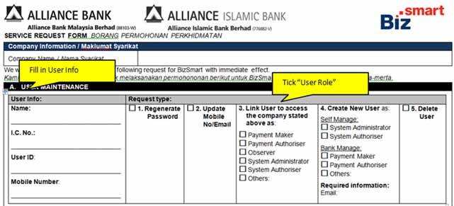 Alliance BizSmart Online Banking | Alliance Bank Malaysia