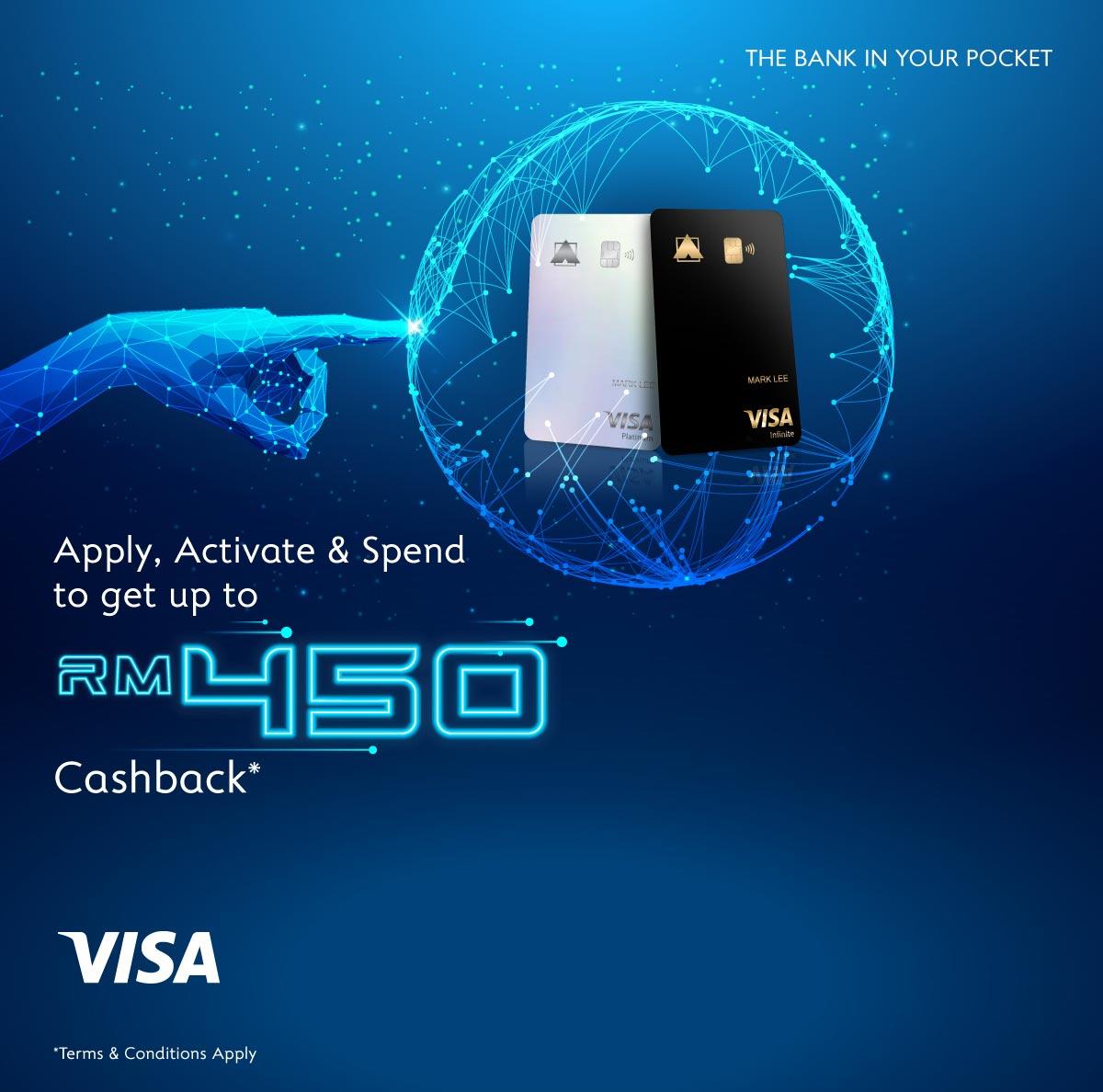RM450 Cashback Campaign