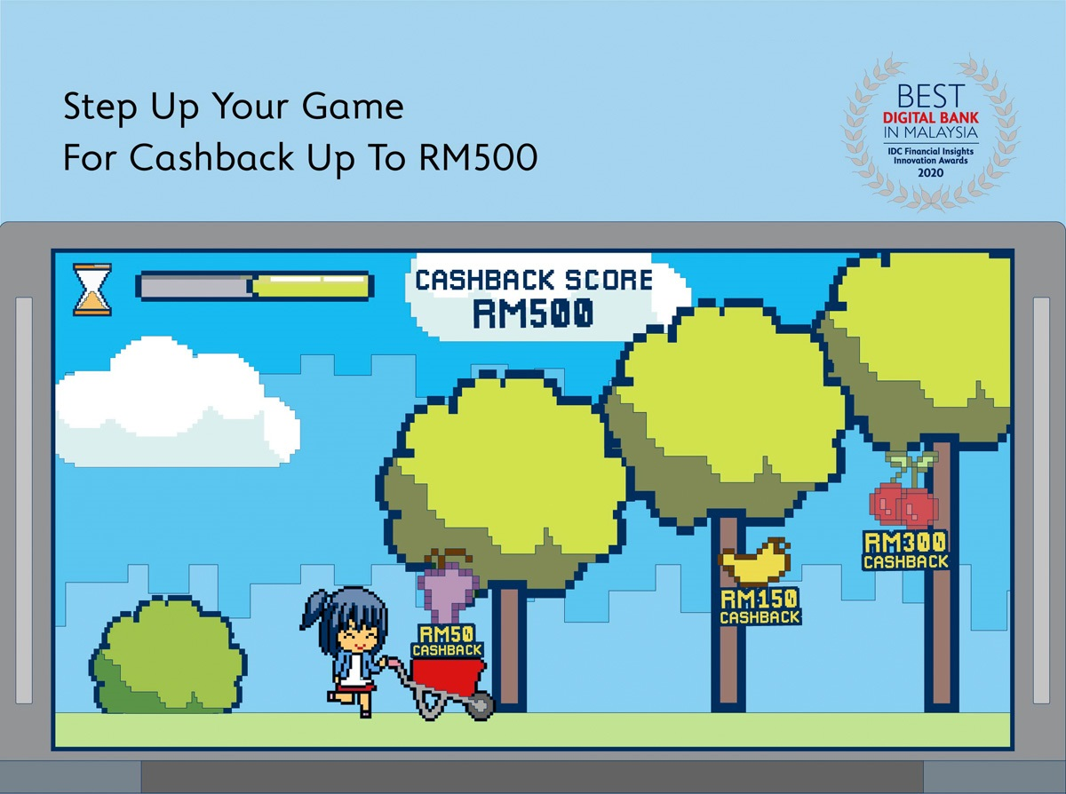 Step Up Your Game For Cashback Up To RM500