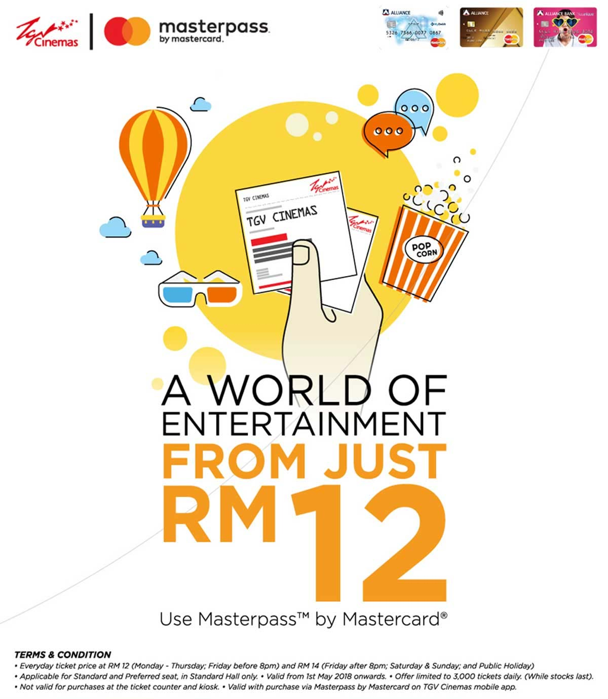 Promotions - A world of entertainment from just RM12 at TGV