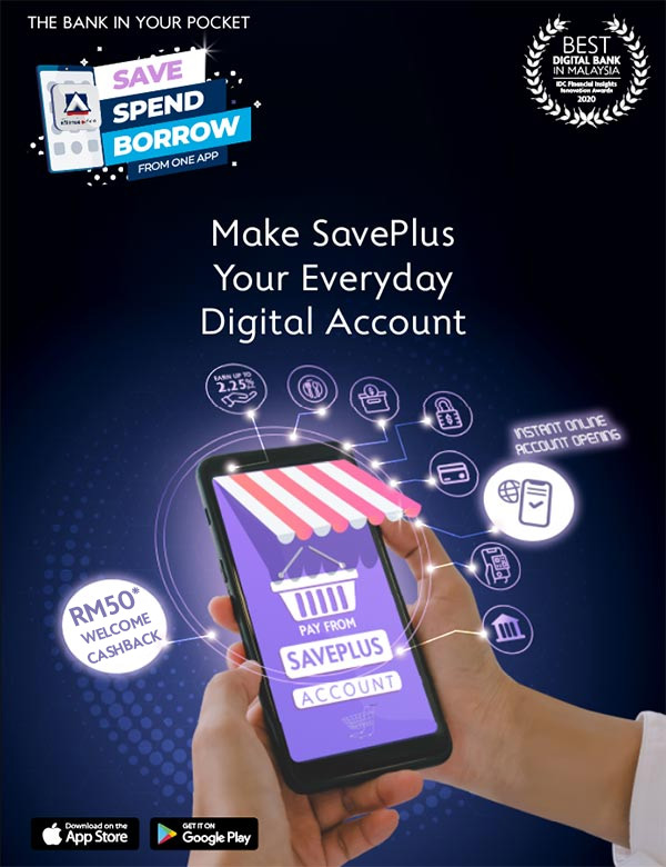 Make SavePlus Your Everyday Digital Account