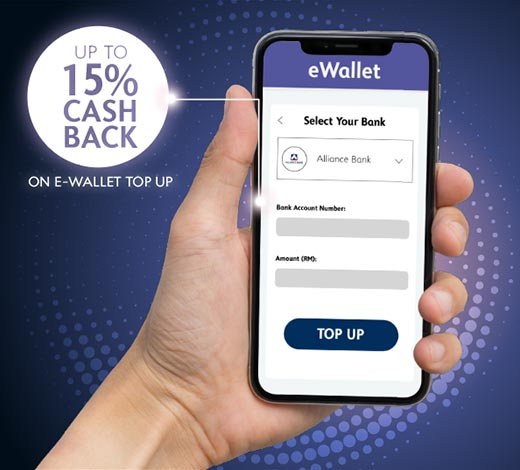 e-Wallet Top Up