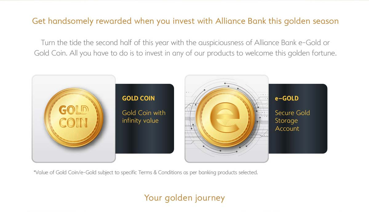 Gold Everywhere Campaign