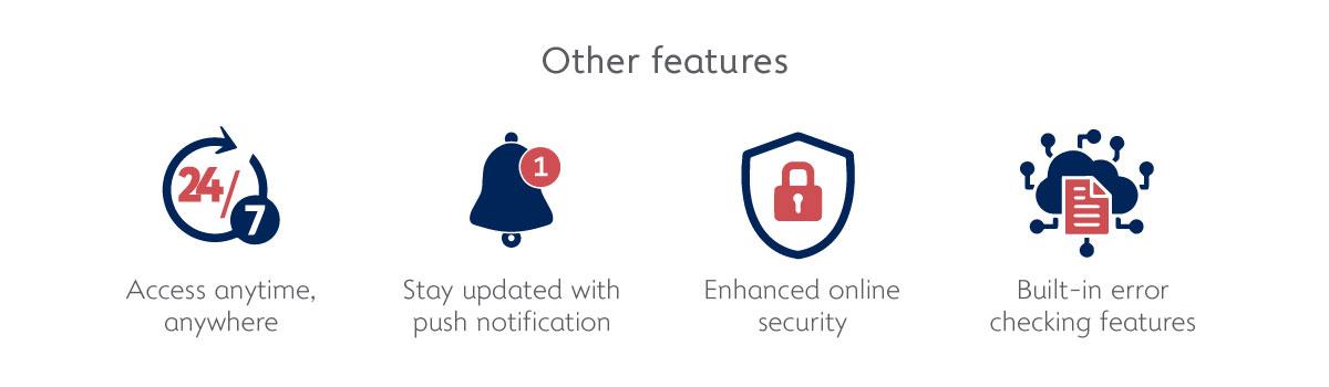Alliance BizSmart eTrade Other features